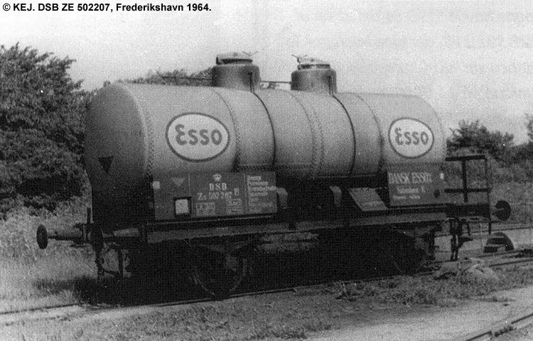 Dansk Esso A/S - DSB ZE 502207
