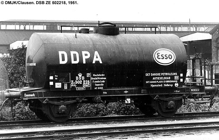 Dansk Esso A/S - DSB ZE 502218