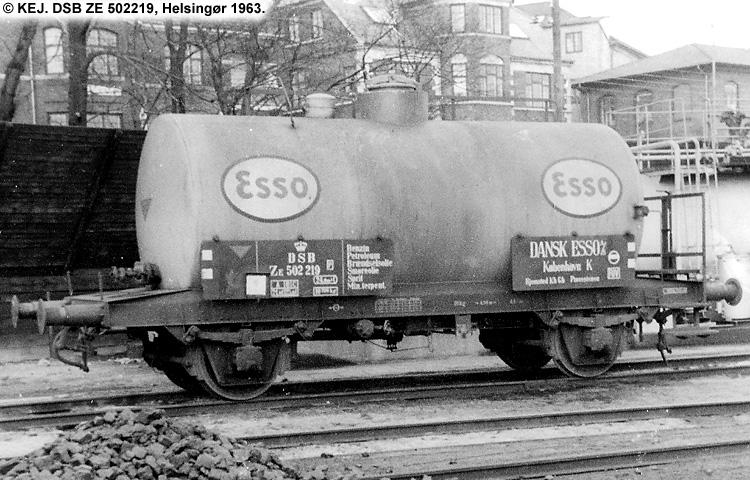 Dansk Esso A/S - DSB ZE 502219