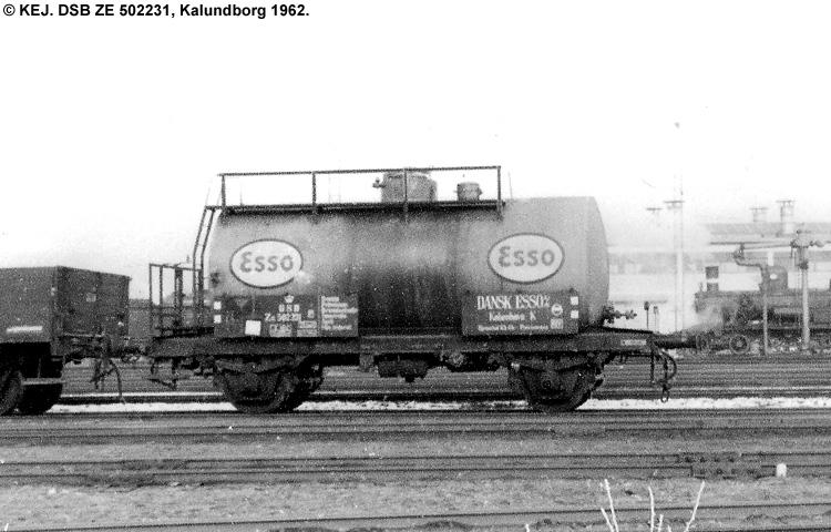 Dansk Esso A/S - DSB ZE 502231