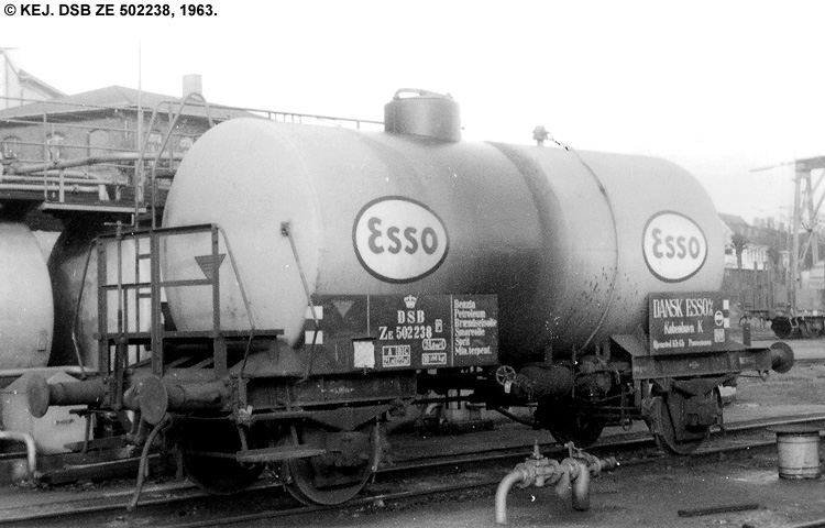 Dansk Esso A/S - DSB ZE 502238