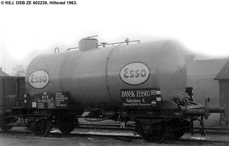 Dansk Esso A/S - DSB ZE 502239