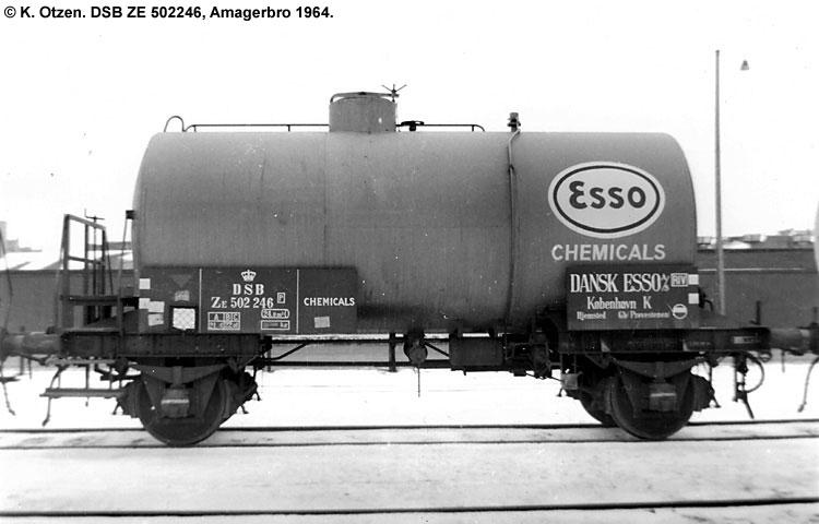Dansk Esso A/S - DSB ZE 502246