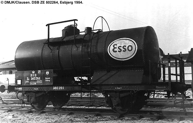 Dansk Esso A/S - DSB ZE 502264