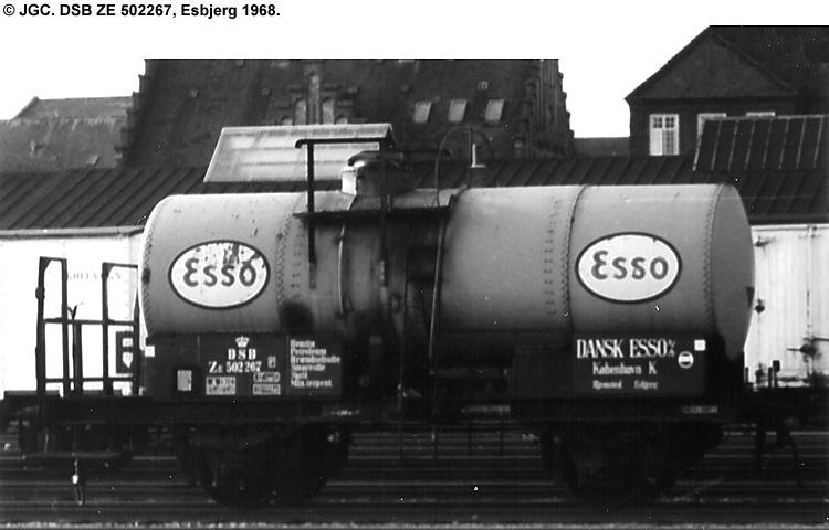 Dansk Esso A/S - DSB ZE 502267