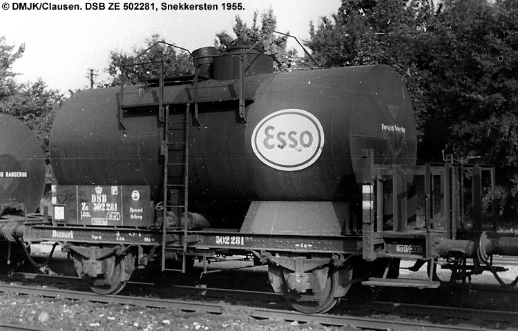 Dansk Esso A/S - DSB ZE 502281
