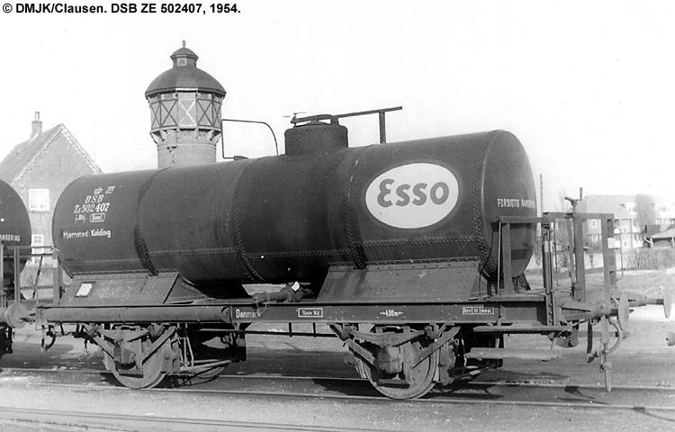 Dansk Esso A/S - DSB ZE 502407