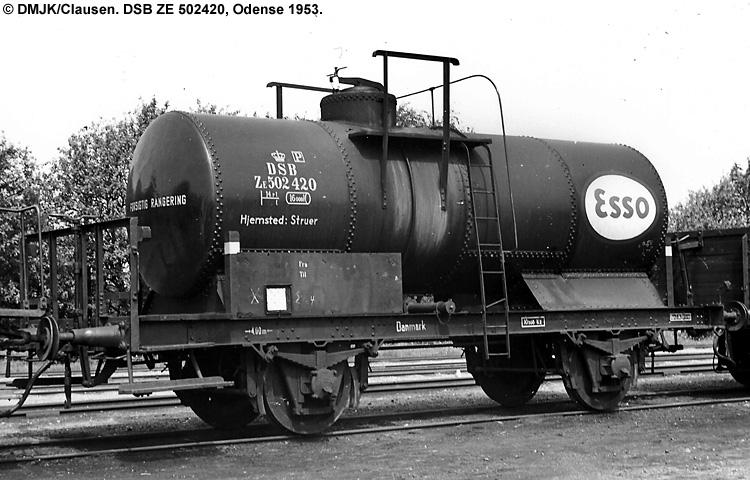Dansk Esso A/S - DSB ZE 502420