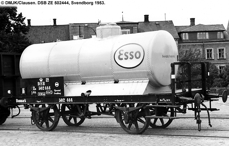 Dansk Esso A/S - DSB ZE 502444