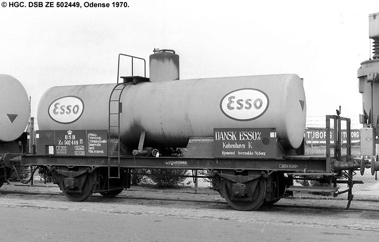 Dansk Esso A/S - DSB ZE 502449