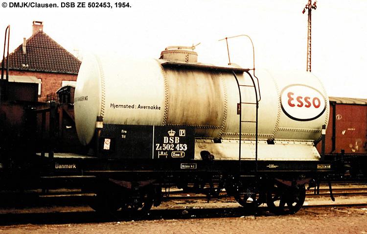 Dansk Esso A/S - DSB ZE 502453