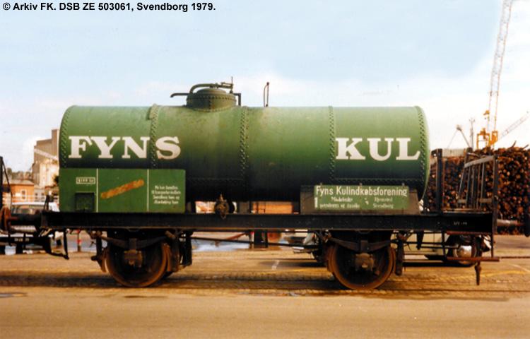 Fyns Kulindkøbsforretning - DSB ZE 503061