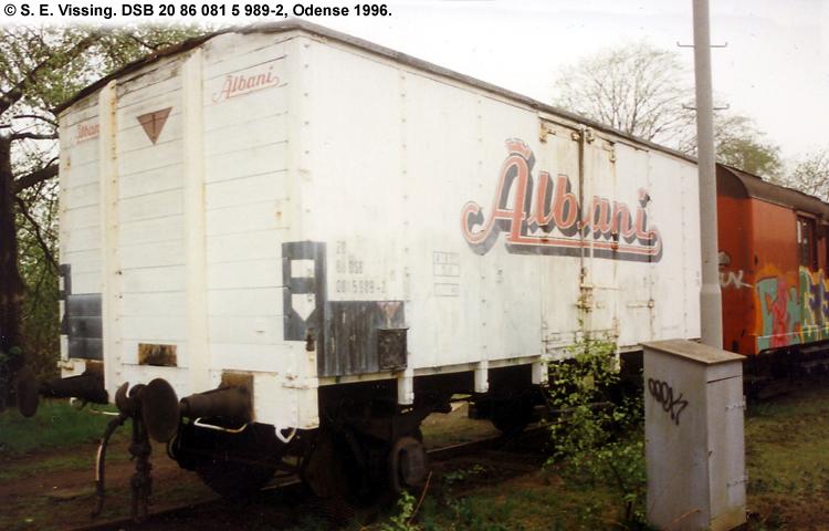 Albani Bryggerierne A/S - DSB 20 86 081 5 989 - 2