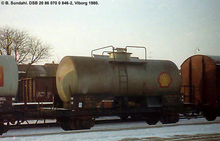 Dansk Shell A/S - DSB 20 86 070 0 846 - 2
