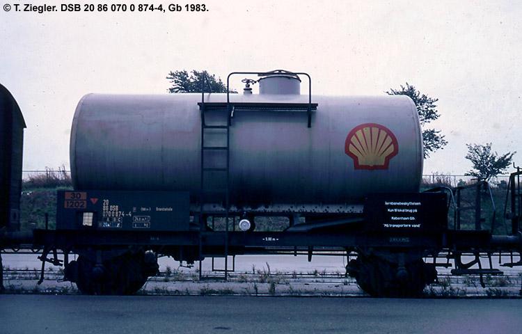 Dansk Shell A/S - DSB 20 86 070 0 874 - 4