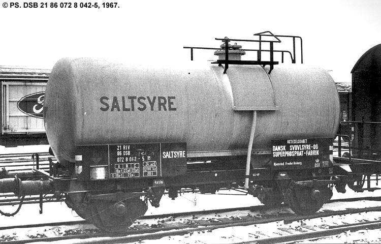 DSSF - Dansk Svovlsyre- og Superphosphatfabrik A/S - DSB 21 86 072 8 042 - 5