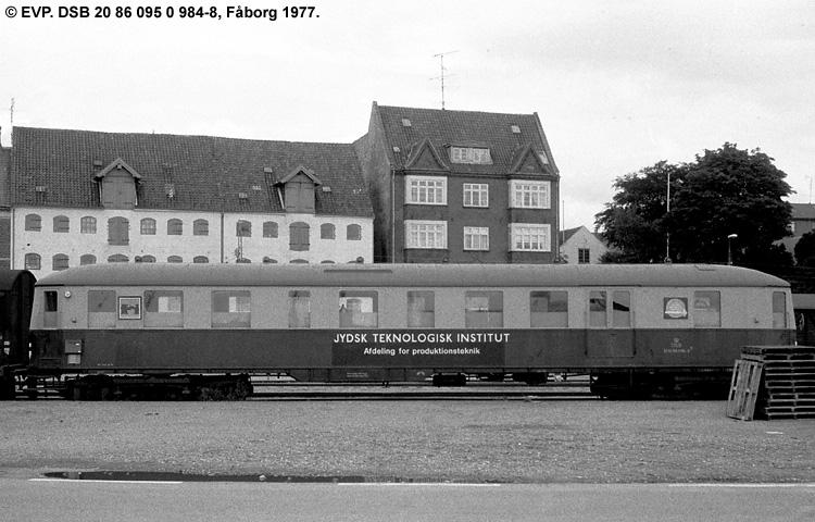 Jydsk Teknologisk Institut - DSB 20 86 095 0 984 - 8