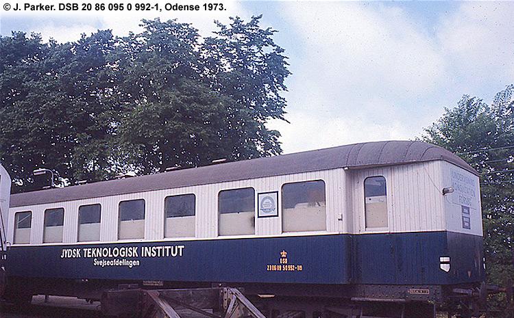 Jydsk Teknologisk Institut - DSB 20 86 095 0 992 - 1