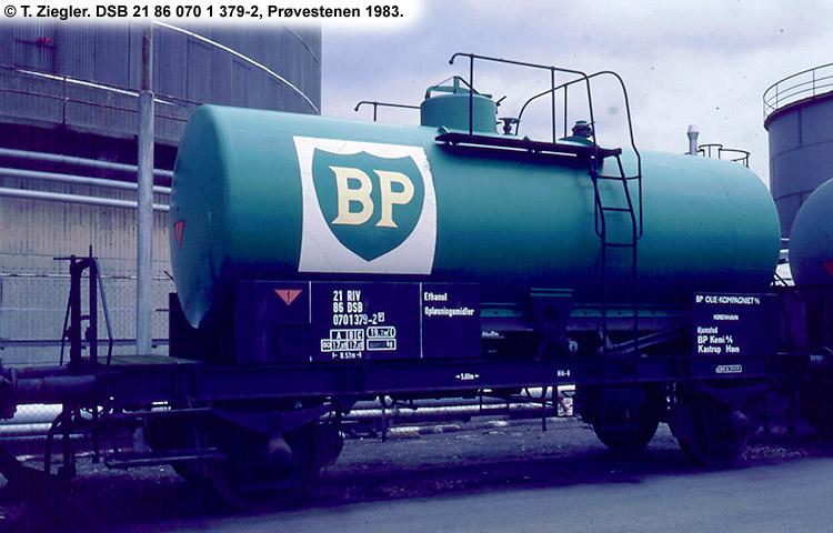 BP Olie Kompagniet A/S - DSB 21 86 070 1 379 - 2