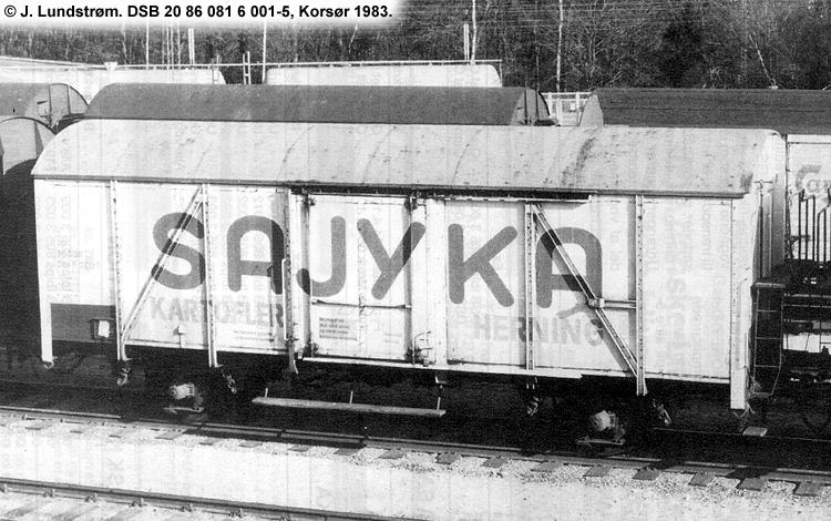SAJYKA Amba - DSB 20 86 081 6 001 - 5