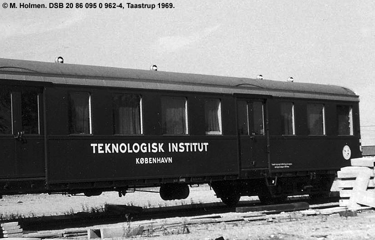 Teknologisk Institut - DSB 20 86 095 0 962 - 4