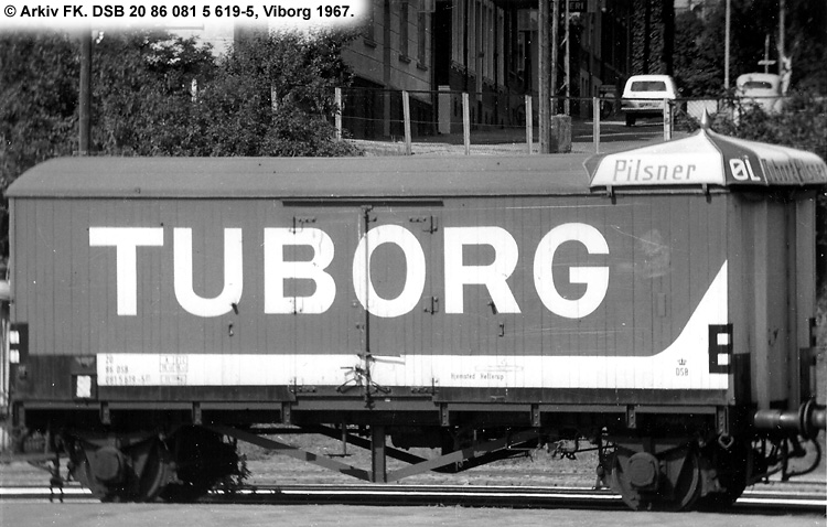 Tuborgs Bryggerier A/S - DSB 20 86 081 5 619 - 5