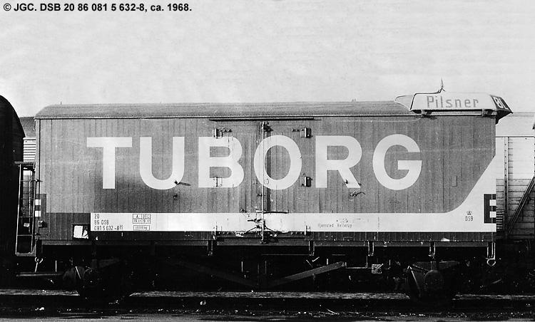 Tuborgs Bryggerier A/S - DSB 20 86 081 5 632 - 8