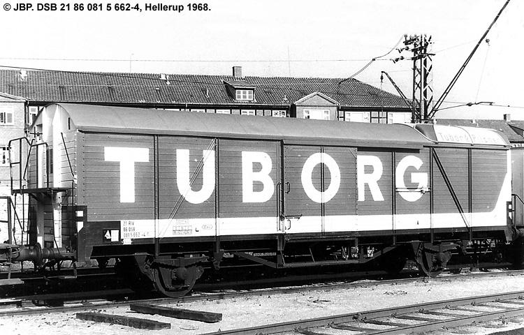 Tuborgs Bryggerier A/S - DSB 21 86 081 5 662 - 4