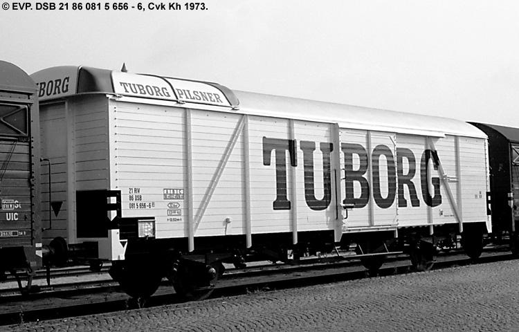 Tuborgs Bryggerier A/S - DSB 21 86 081 5 656 - 6