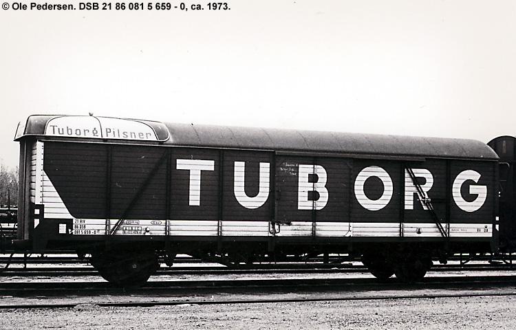 Tuborgs Bryggerier A/S - DSB 21 86 081 5 659 - 0
