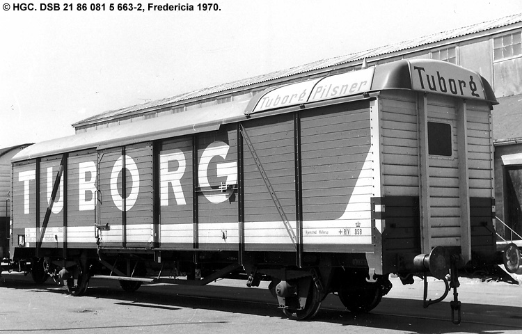 Tuborgs Bryggerier A/S - DSB 21 86 081 5 663 - 2
