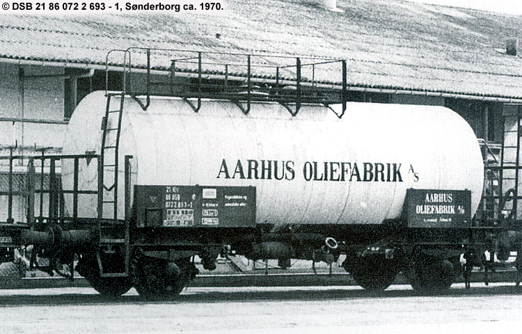 Århus Oliefabrik A/S - DSB 20 86 070 1 693 - 7
