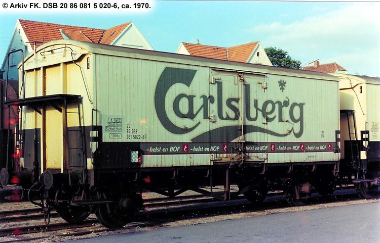 Carlsberg Bryggerierne - DSB 20 86 081 5 020 - 6