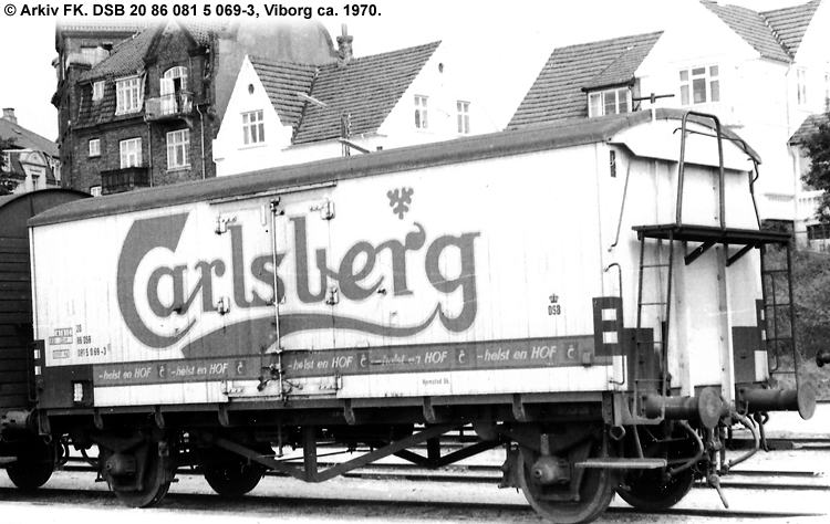 Carlsberg Bryggerierne - DSB 20 86 081 5 069 - 3