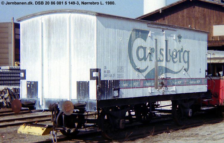 Carlsberg Bryggerierne - DSB 20 86 081 5 149 - 3