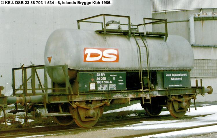 Dansk Sojakagefabrik A/S - DSB 23 86 703 1 534 - 6