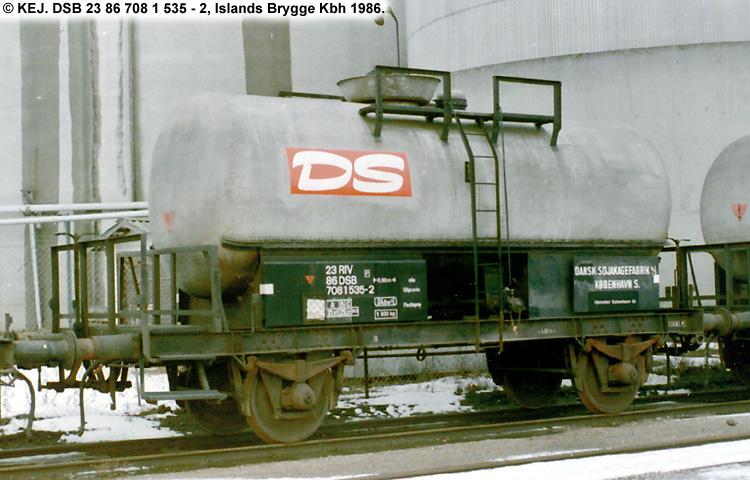 Dansk Sojakagefabrik A/S - DSB 23 86 708 1 535 - 2