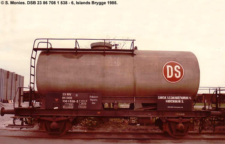 Dansk Sojakagefabrik A/S - DSB 23 86 708 1 538 - 6
