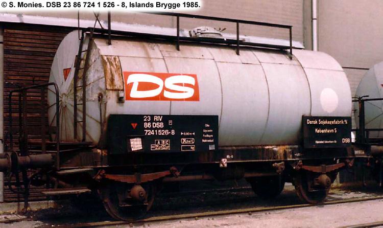 Dansk Sojakagefabrik A/S - DSB 23 86 724 1 526 - 8