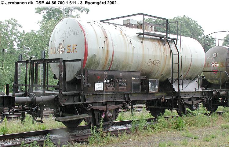 De Danske Spritfabrikker A/S - DSB 44 86 700 1 611 - 3