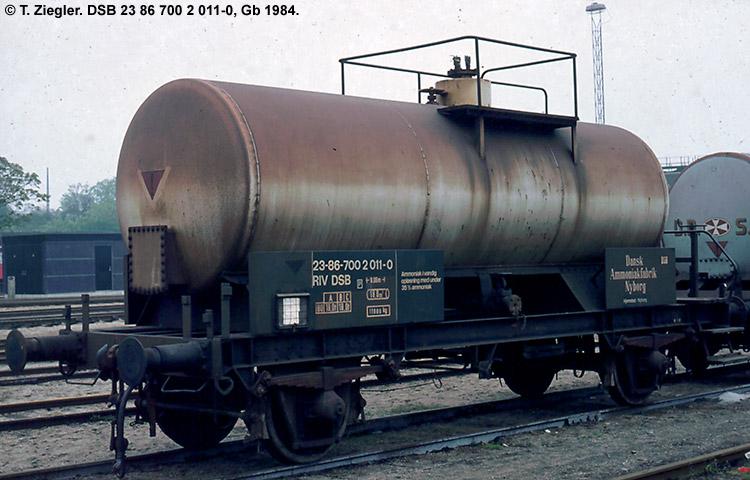 Dansk Ammoniakfabrik - DSB 23 86 700 2 011 - 0