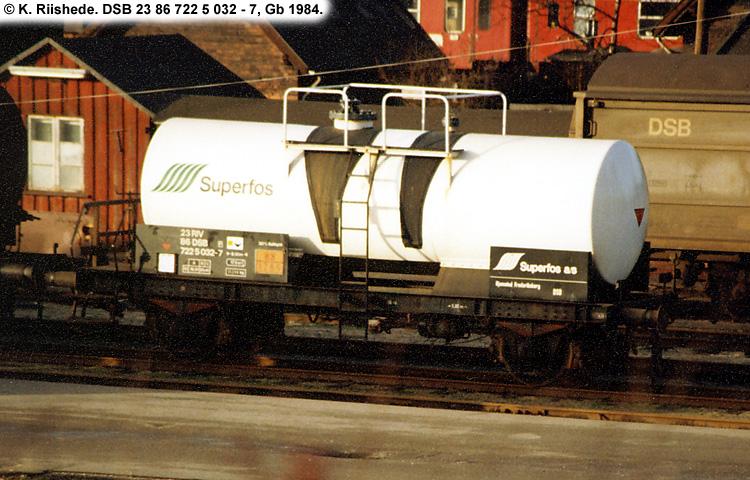 Superfos A/S - DSB 23 86 722 5 032 - 7