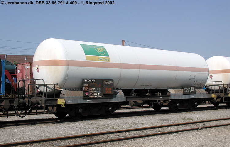 BP Gas A/S - DSB 33 86 791 4 409-1