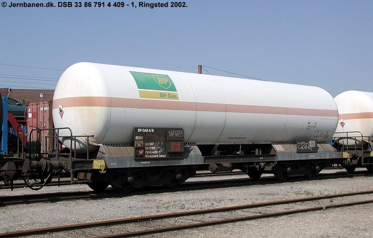BP Gas A/S - DSB 33 86 791 4 409 - 1