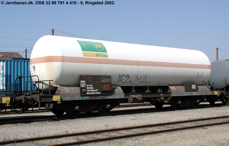 BP Gas A/S - DSB 33 86 791 4 410-9