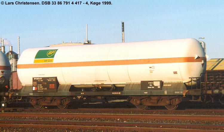 BP Gas A/S - DSB 33 86 791 4 417 - 4