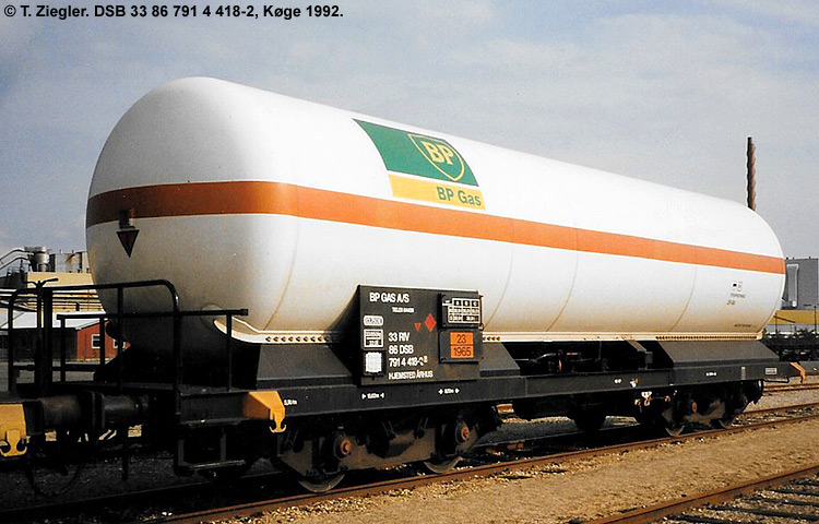 BP Gas A/S - DSB 33 86 791 4 418 - 2