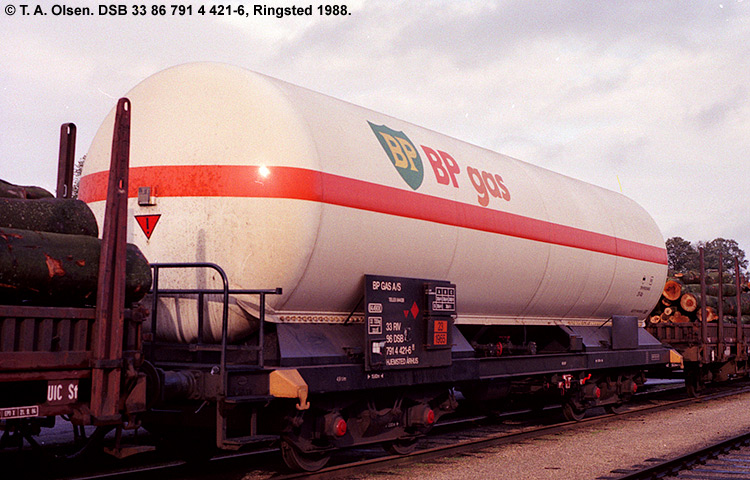 BP Gas A/S - DSB 33 86 791 4 421-6
