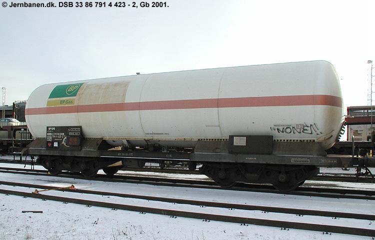 BP Gas A/S - DSB 33 86 791 4 423-2