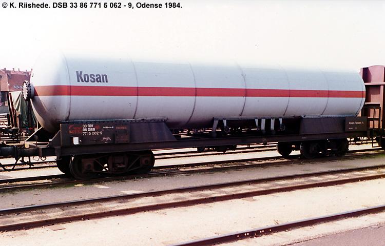 Kosan Tankers A/S - DSB 33 86 771 5 062-9